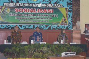 Sosialisasi Analisis Standar Belanja Pemerintah Kota Palangka Raya Tanggal 26 Juli 2019